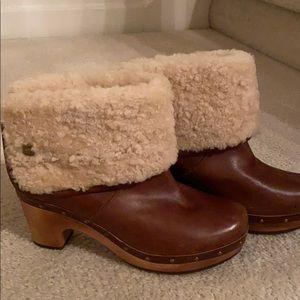 Lynnea Leather Stud Trim Ugg Boot